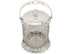 Sterling Silver Preserve Pot - Antique Edwardian