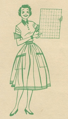 An early 1960s Stamp Saver Book illustration from Cash Stamps. #vintage #shopping #stamps #homemaker     1960s from Cash Stamps