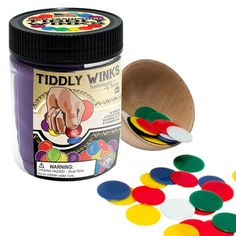 Tiddly Winks with Color Canvas Pouch picture
