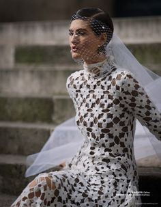 Athena Wilson for Bazaar China by Benjamin Kanarek