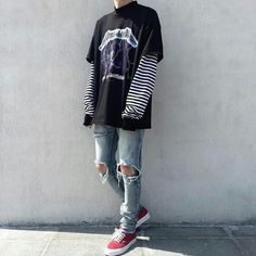 38 Trendy style edgy boy - 38 Trendy style edgy boy You are in the right place about edgy fashion Here we offer you the - Style Outfits, Edgy Outfits, Mode Outfits, Grunge Outfits, Hipster Outfits, Cool Outfits For Boys, Boy Fashion, Trendy Fashion, Korean Fashion