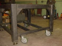 Best Casters for Weld Table