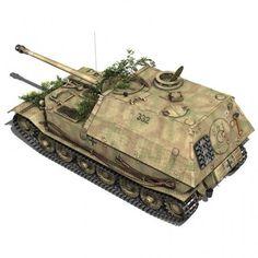 SD.KFZ 184 Panzerjaeger Tiger (P) - Elefant - Heavy tank destroyer conçu par Ferdinand Porsche