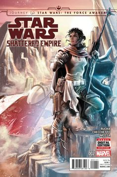 New character revealed on cover of Star Wars: Shattered Empire. Details and pic here