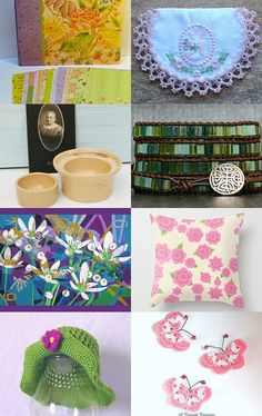 Bright Spring colors! by Laurelee on Etsy--Pinned+with+TreasuryPin.com