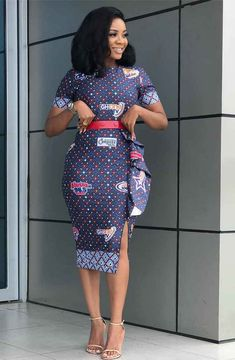 How to Look Classy Like Serwaa Amihere - 30+ Outfits in 2021 African Dresses For Kids, Latest African Fashion Dresses, African Dresses For Women, African Print Fashion, African Attire, African Prints, Classy Work Outfits, Office Outfits Women, 30 Outfits