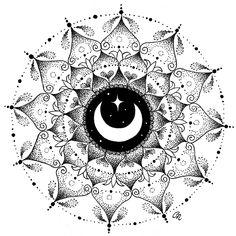Moon mandala