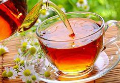 Herbata, Dzbanek, Filiżanka, Talerzyk