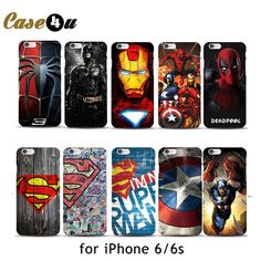 Marvel Avengers iPhone Case (10 Designs)