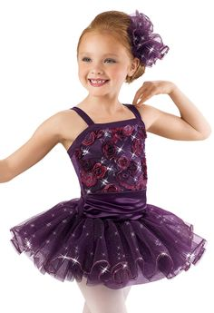 Embroidered Floral Sequin Dress -Weissman Costumes