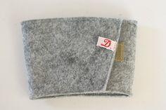DIY wool felt coffee sleeves... stocking stuffer or last minute gift idea!