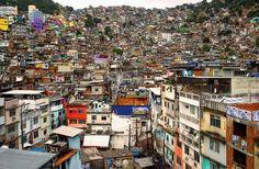 Favela - Rio de Janeiro, Brazil. (Credit: Twitter, @ThatsEarth)