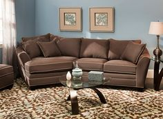 Microfiber Sectional Sofa | Sectional Sofas | Raymour And Flanigan Furniture