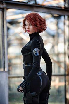 Black Widow | Natasha Romanoff Avengers 2012 by Karenscarlet.deviantart.com