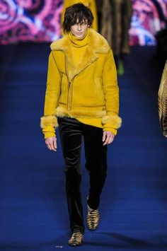 Etro knows how to get a shearling done right.
