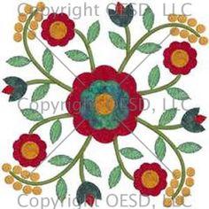 Baltimore Quilt Patterns Free Applique Quilt Block