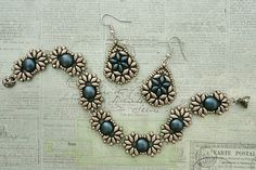 Linda's Crafty Inspirations: Bethany Earrings & Duo Candy Set - Cocoa & Montana