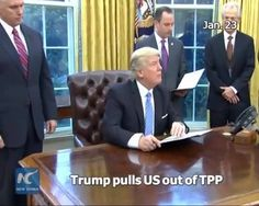 Making good on his campaign pledge, U.S. President Donald Trump has withdrawn the United States from the Trans-Pacific Partnership (TPP). Pankaj Ghemawat, Professor of Global Business Strategy at NYU's Stern Business School, says Trump's decision indicates that the new administration is shifting trade policies from previous U.S. norms. More in this video.