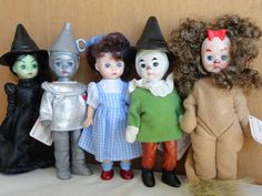 Madame Alexander Wizard of Ox Doll collection from McDonalds Happy Meals 2012