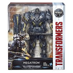 Leader Optimus Prime and Megatron Preorders for Transformers The Last Knight