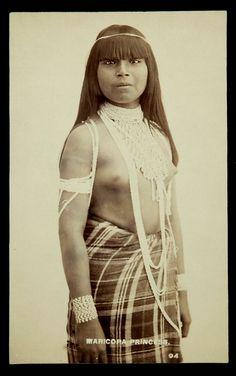 Maricopa Princess, Camillus Sydney Fly photographer, 1895, Tombstone, Arizona