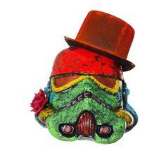 Stormtrooper helmets reimagined by artists