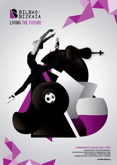 Bilbao - Bizkaia Branding by Sofia Papadopoulou, via Behance