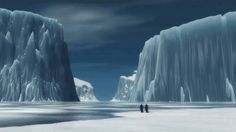 Antarctic glaciers in irreversible retreat