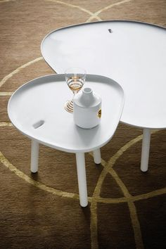 NINFEA & LOTO #tables designed for @Zanotta | #design #Palomba