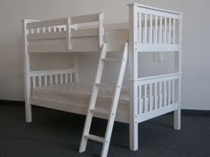 Bunk beds design and room ideas. Most amazing bunk beds for kids. Designing bunk beds that you might like. White Bunk Beds, Modern Bunk Beds, Cool Bunk Beds, Twin Bunk Beds, Kids Bunk Beds, Modern Bedding, Loft Beds, Luxury Bedding, Houses
