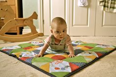 handmade patchwork playmat made for Grace's Memorial day raffle. Picnic Blanket, Outdoor Blanket, Baby Play, Baby Crafts, Diy Projects To Try, Quilting Projects, Baby Quilts, Memorial Day, Ms