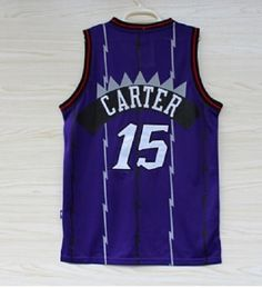 Vince Carter jersey Toronto Raptors Swingman Basketball 15 Purple Sewn  Description   Features Description 1. 8749a17fd