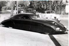 1950 Futureliner from GM..  I would so drive this...