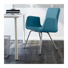 PATRIK Cadeira p/escritório - Ullevi azul, - - IKEA