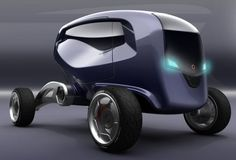 SPACE CARS OF THE FUTURE | Future Transportation - Hexagon Concept Car by Spaggiari Andrea
