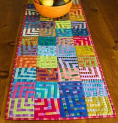 Image result for picture of Kate Fassett crazy squares table runner