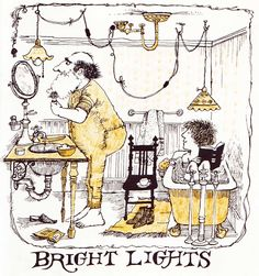 Bright Lights to See By - Miriam Anne Bourne, illustrated by Marilyn Hafner