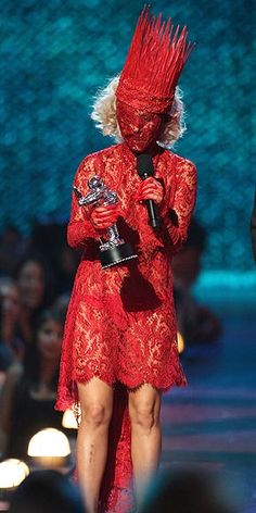 Photograph by : Christopher Polk/Getty Website: people.com  Lady Gaga at the 2009 MTV VMAs