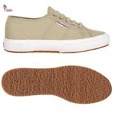 Chaussures Superga Sneakers Homme Femme Unisexe Plus de 2750Cotu printemps été automne hiver - Gris - Grau (Sabbia), 44 - Chaussures superga (*Partner-Link)