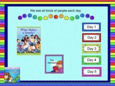 This is a Smart Notebook lesson to be used in support with the Journeys reading program. This lesson was developed to follow a five day lesson plan.  It includes phonics, comprehension, grammar and writing.    A powerpoint is linked to the home page to support alphabet fluency.You can use the lesson on any interactive whiteboard as long as you have SMART Notebook software loaded on your computer OR files can also be converted into ActivInspire lessons as well.