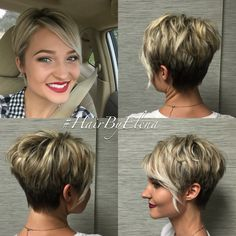 Pixie haircut by  #Hairbyelena