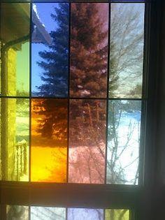 stain glass idea