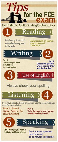 Tips for FCE exam
