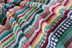 Spice of Life Blanket Originally part of a Crochet Along (CAL), the Spice of Life Black is a great way to learn news stitches and stitch patterns and is available as a free pattern to download.
