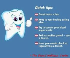 Dental tips.  ♥Comment♥Like ♥ Repin♥
