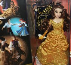 Belle and the Beast Doll Set - Disney Fairytale Designer Collection - http://mostbidded.com/ads/belle-and-the-beast-doll-set-disney-fairytale-designer-collection