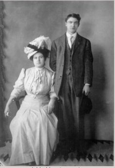 Ernest MW Jones and Charilla McGregor