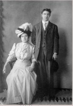 Ernest MW Jones and Charilla McGregor