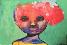 """Maleri av Kari Anne Marstein """"Placebo"""", 150x100 maleri"""