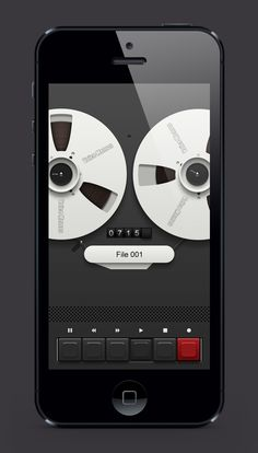 Voice Memos by wy715sy #interface